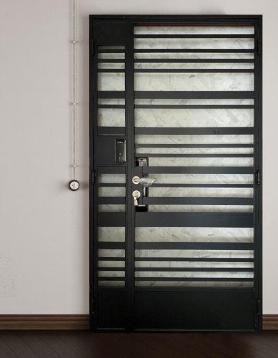 DV2111 Metal Gate Showroom