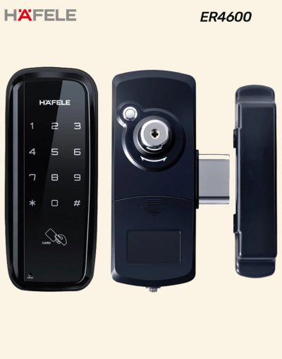 Hafele Digital Gate Lock Design