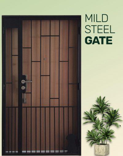 Metal Gate Lock DV2124