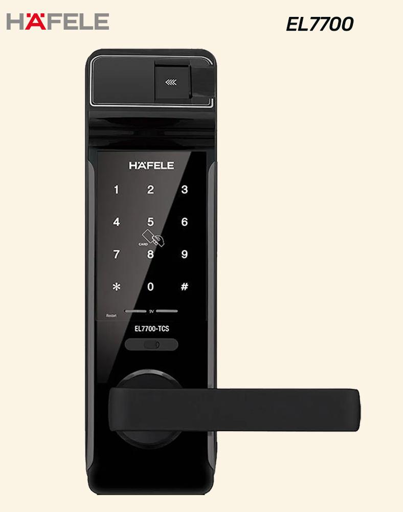 Hafele Digital Lock Design