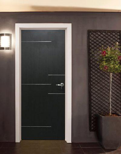 Stainless Steel Mix Laminate Bedroom Door