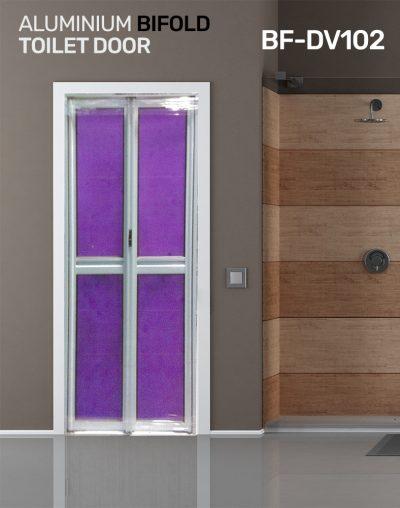 BF DV102 Toilet Door Bifold