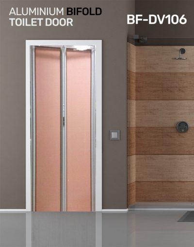 BiFold Toilet door Design