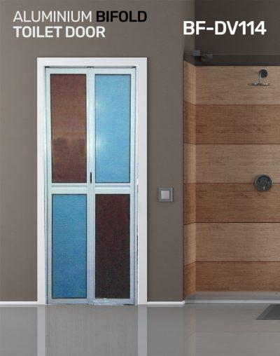 BF DV114 Toilet Door Design