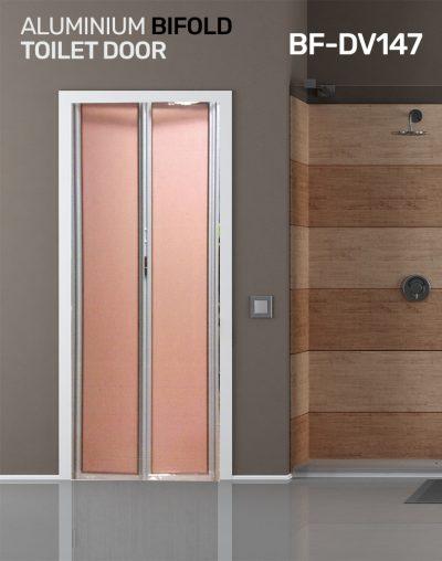 Toilet Door Installation