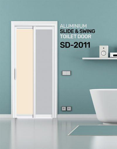 SD 2011 Slide & Swing Toilet Door