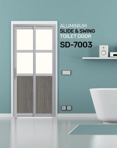 SD 7003 Slide & Swing Toilet Door