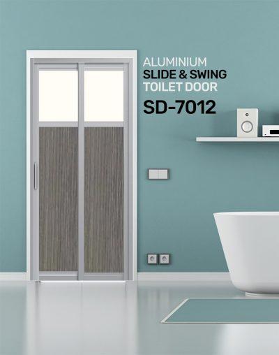 SD 7012 Toilet Door Design