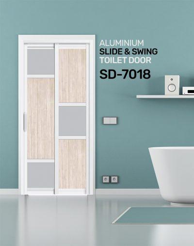 SD 7018 Condo Toilet Door