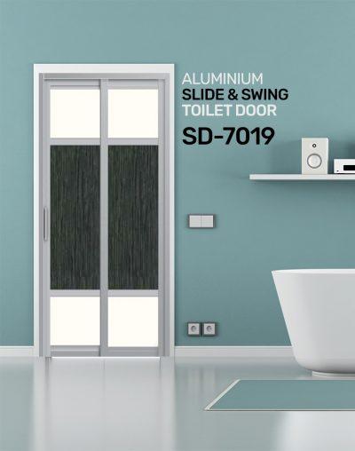 SD 7019 Slide & Swing Toilet Door