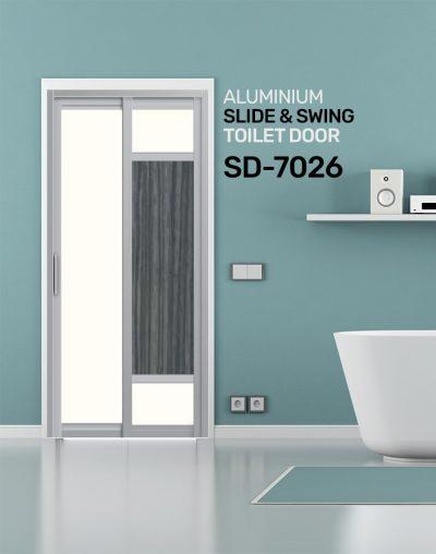 SD 7026 Toilet Door Design