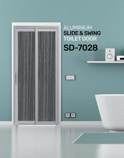 SD 7028 Condo Toilet Door