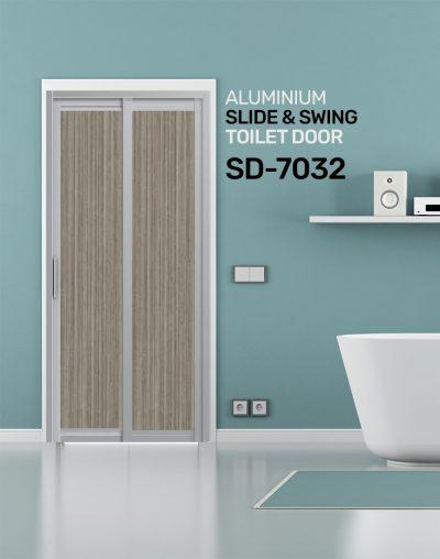 SD 7032 Slide & Swing Toilet Door