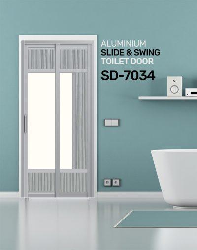 SD 7034 Toilet Door SG