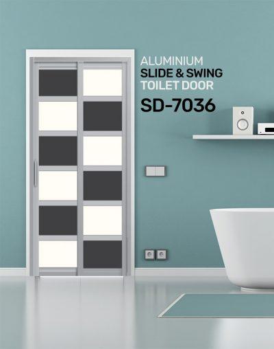SD 7036 Condo Toilet Door