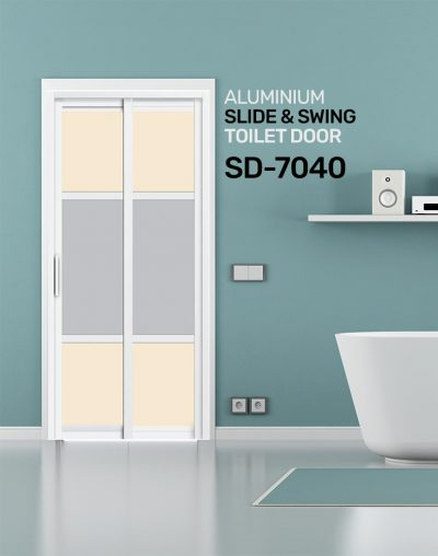 SD 7040 Toilet Door Design