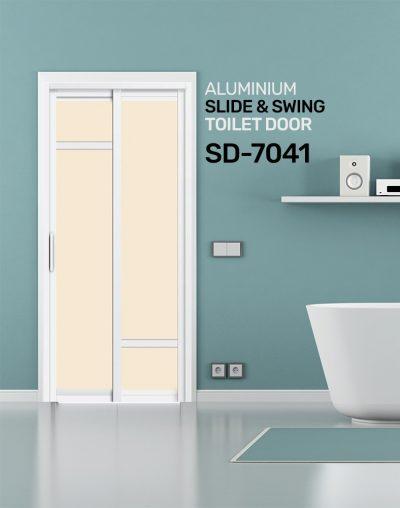 SD 7041 Slide & Swing Toilet Door
