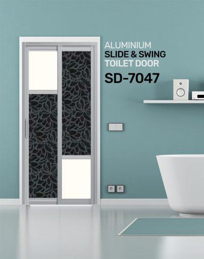 SD 7047 HDB Toilet Door Design