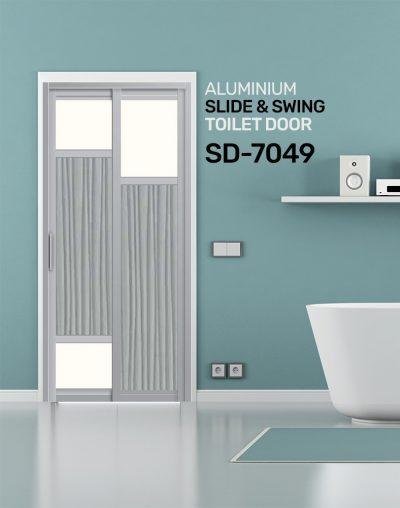 SD 7049 Condo Toilet Door