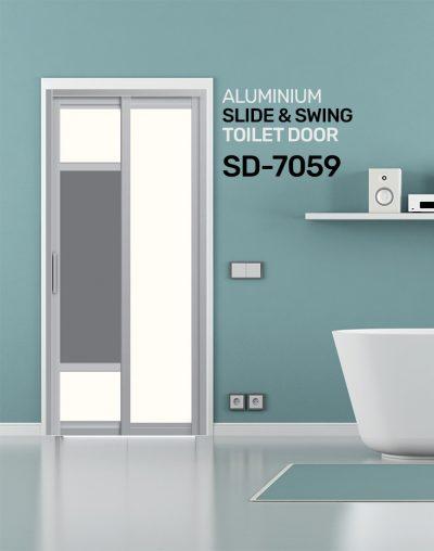 SD 7059 Condo Toilet Door