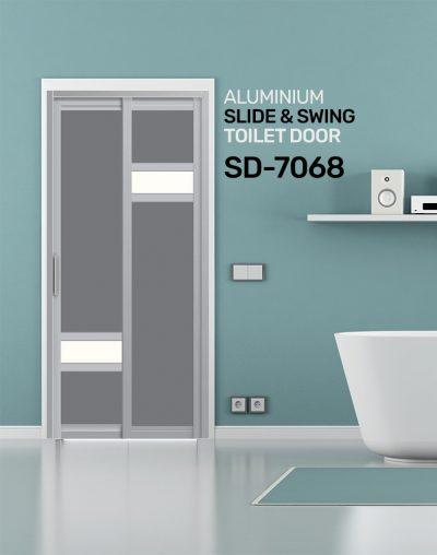SD 7068 HDB Toilet Door Design
