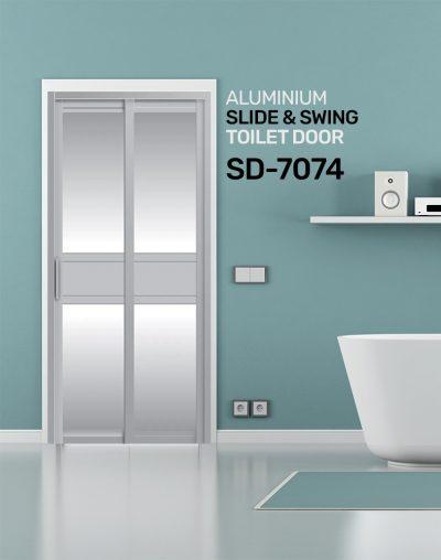 SD 7074 Toilet Door Design