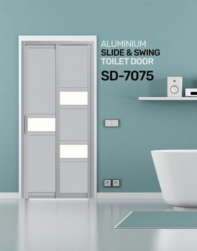 SD 7075 HDB Toilet Door Design