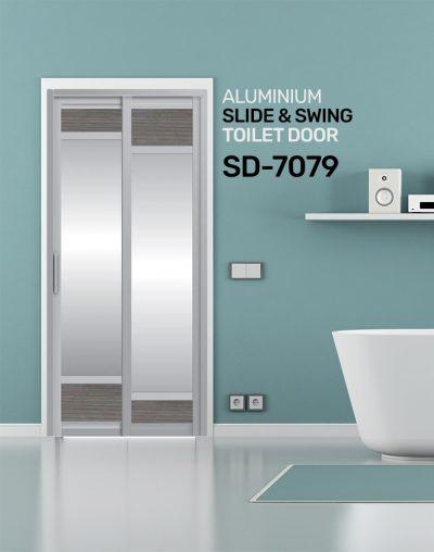SD 7079 Slide & Swing Toilet Door