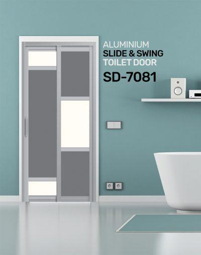 SD 7081 Condo Toilet Door