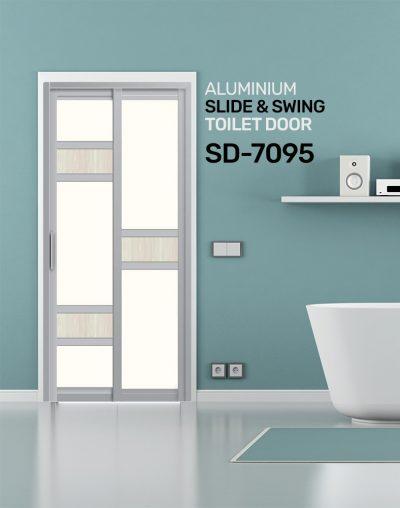SD 7095 Toilet Door Design