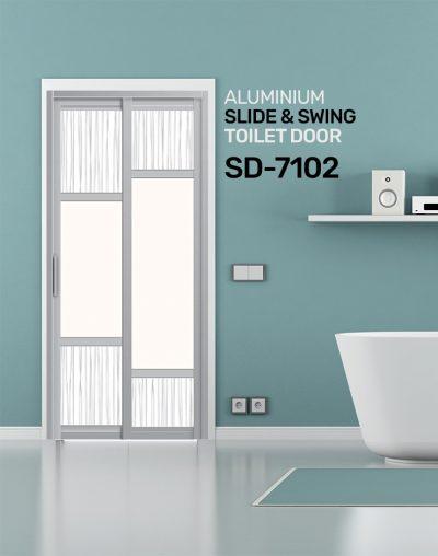 SD 7102 HDB Toilet Door Design