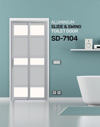 SD 7104 Toilet Door Lock