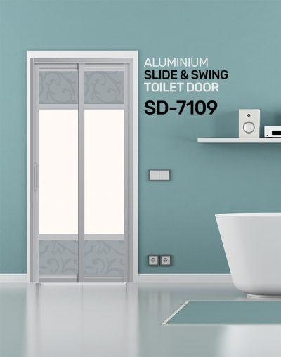 SD 7109 Toilet Door Design