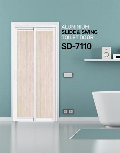 SD 7110 HDB Toilet Door Design