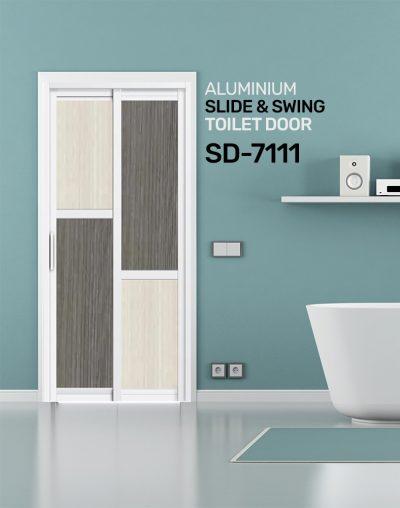 SD 7111 Slide & Swing Toilet Door