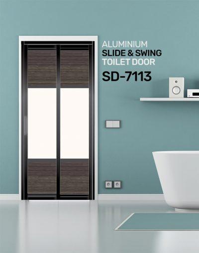 SD 7113 HDB Toilet Door