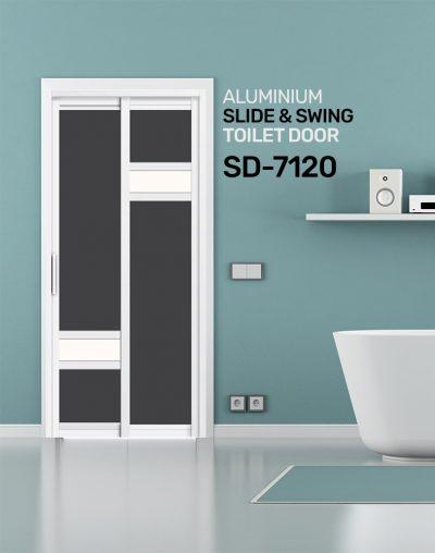 SD 7121 Toilet Door Design