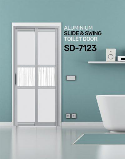 SD 7123 Slide & Swing Toilet Door