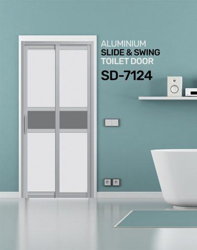 SD 7124 Condo Toilet Door