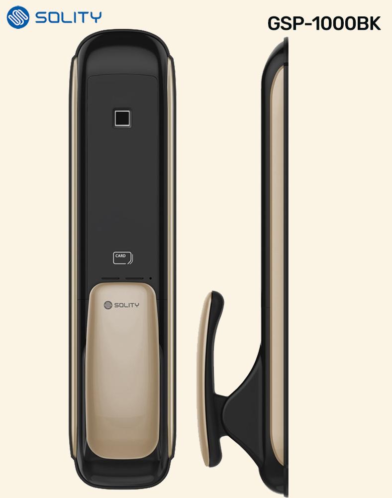 Solity GSP 1000BK Push Pull Digital Door Lock