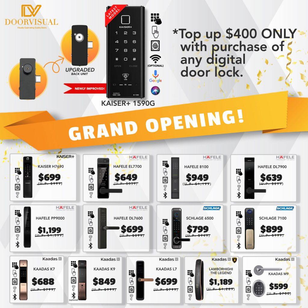 Best Digital Lock Bundle Promotion Sale 2021