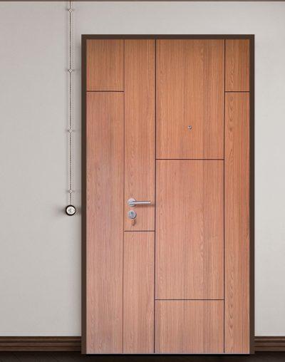 Laminate Main Door with Groove Line