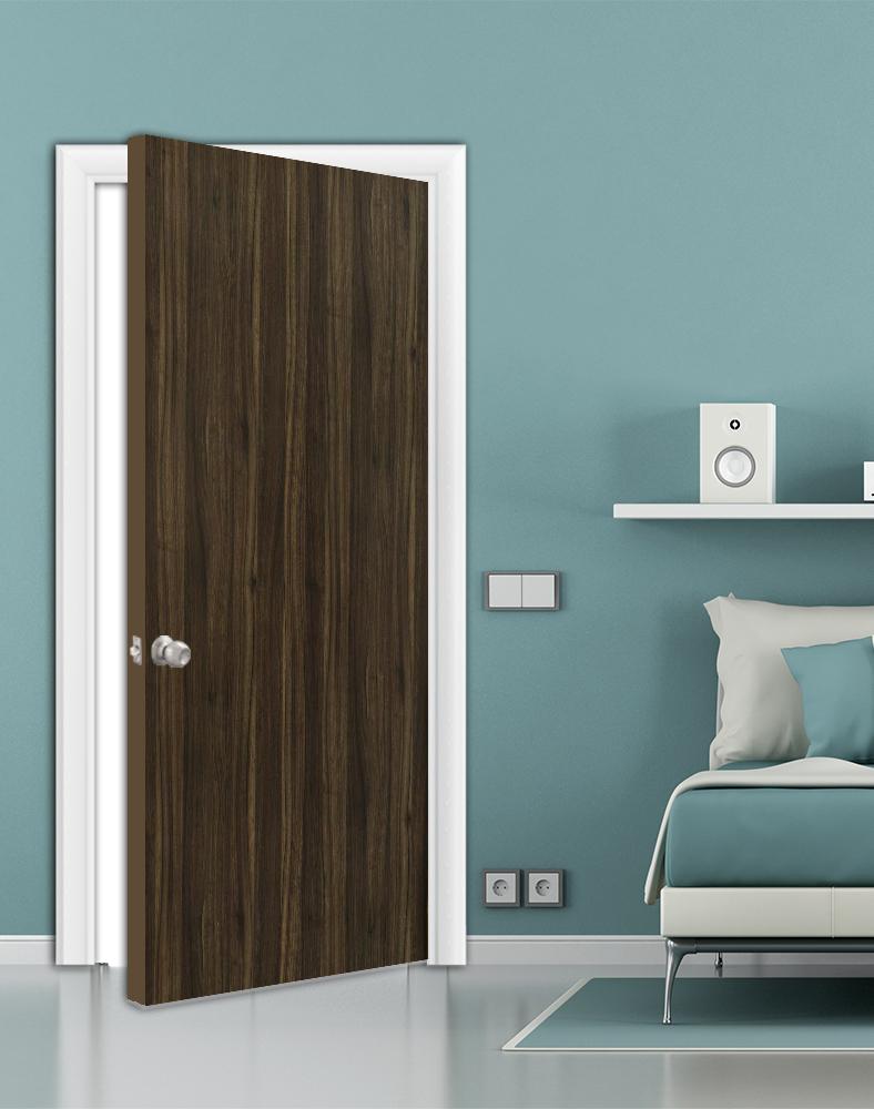 Laminate-Bedroom-door-Thermo Walnut (DVB-1824)