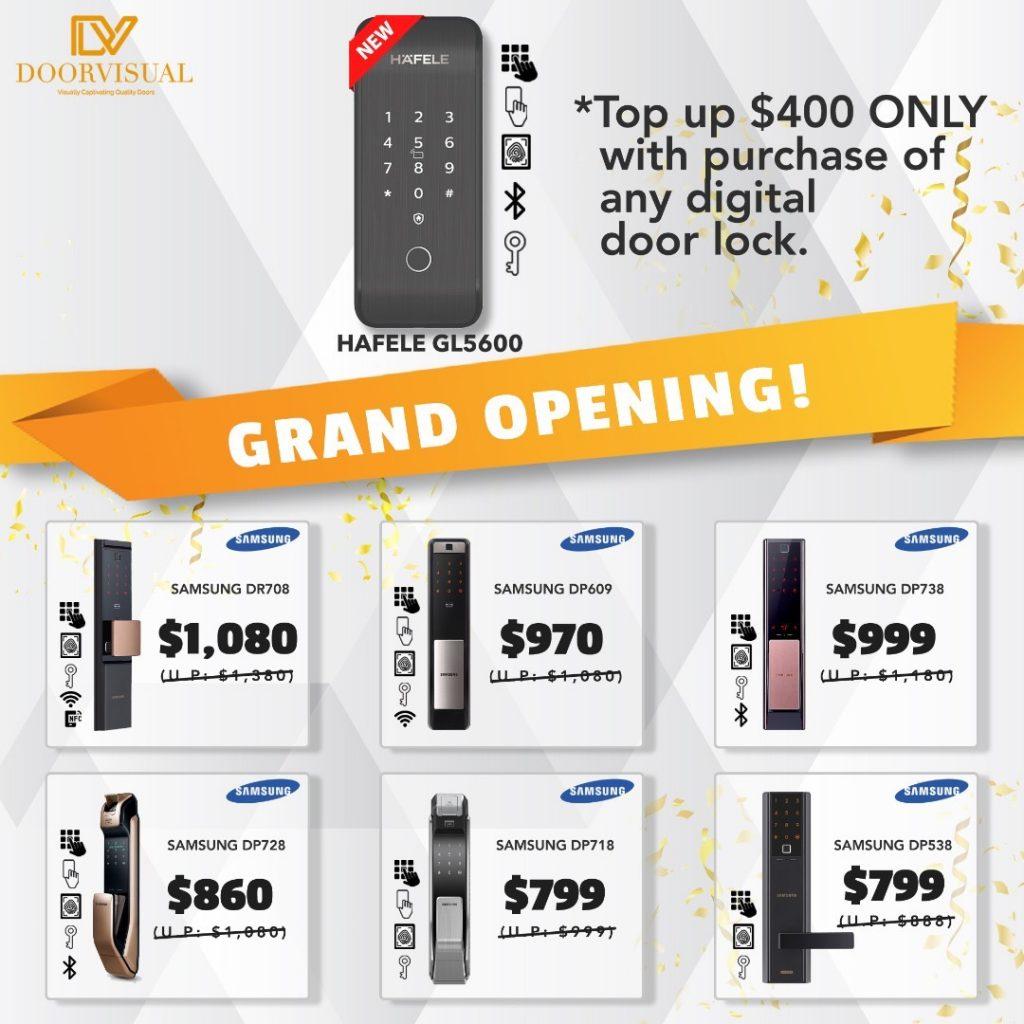 showroom-grand-opening-day-samsung-digitallock-sale